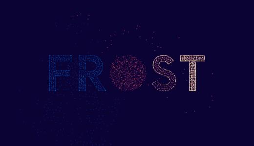 『FROST』Apple Design Awards 受賞ゲーム。光の群れ、自然の中にあるパターン。